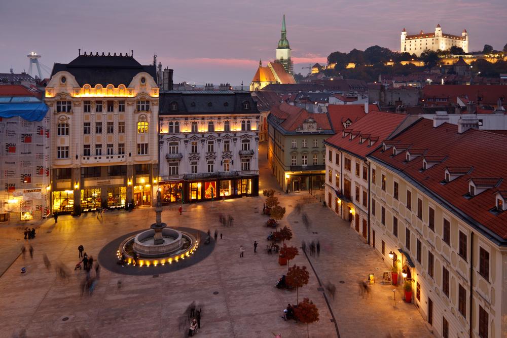 Pobyt v Bratislave